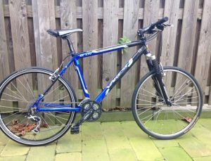 Eerste fiets mamazetkoers.nl