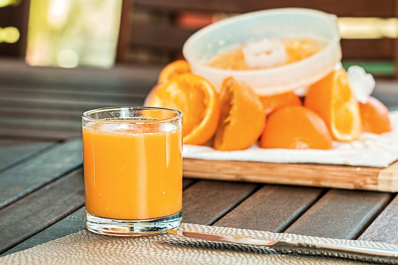 Sinaasappelsap mamazetkoers.nl