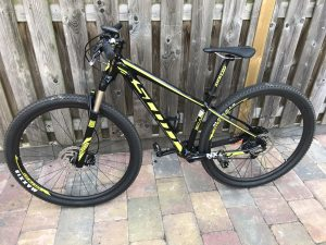 Scott mountainbike mamazetkoers