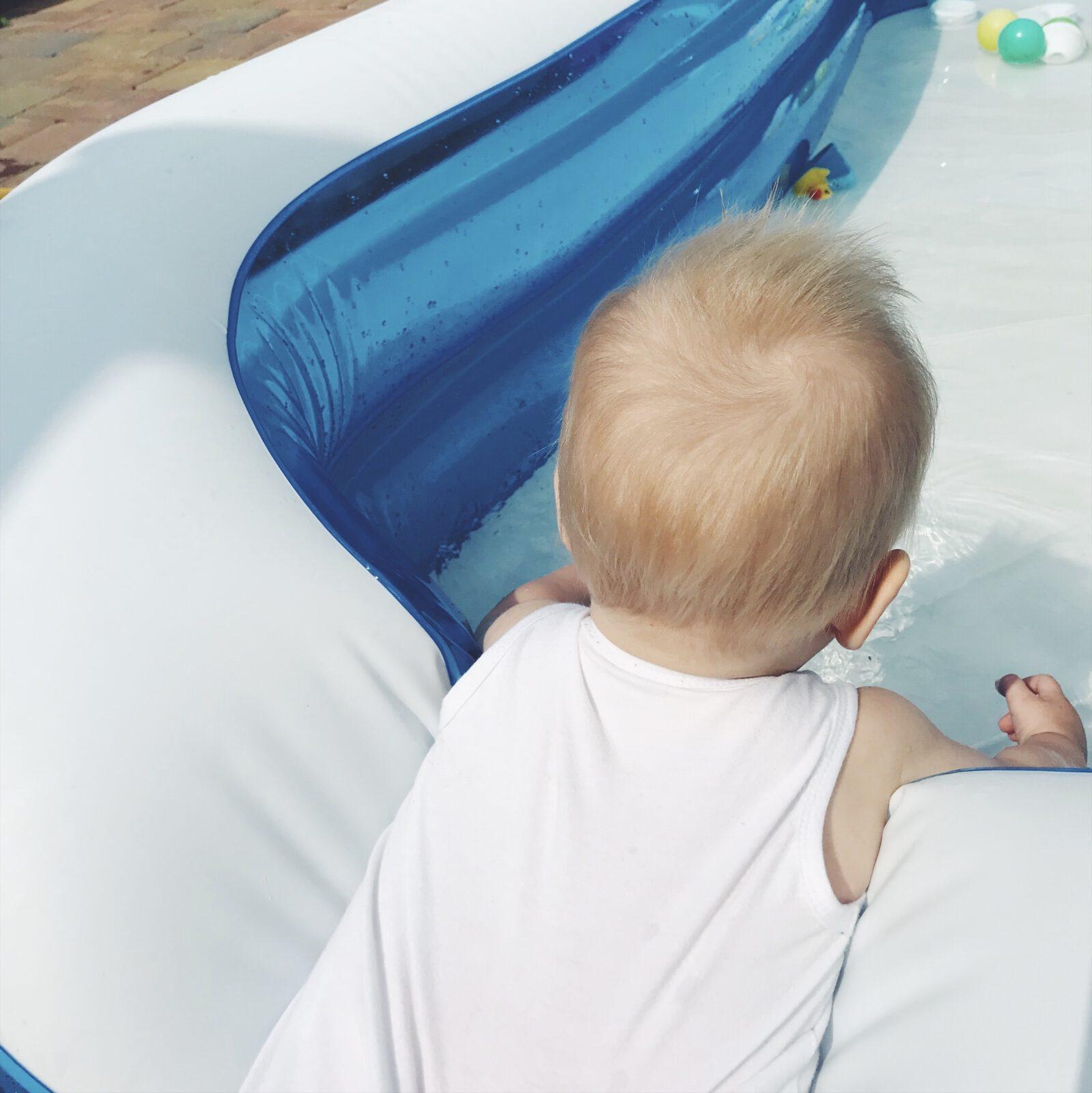 zwemmen mamazetkoers bang voor water