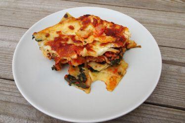Glutenvrije lasagne-