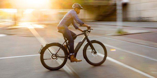 Elektrische fietsen mamazetkoers