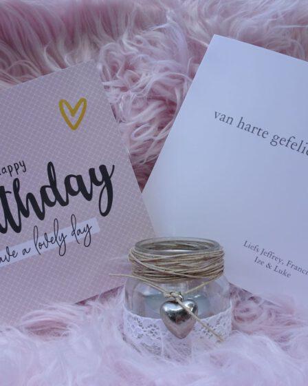 kaartje sturen verjaardag -