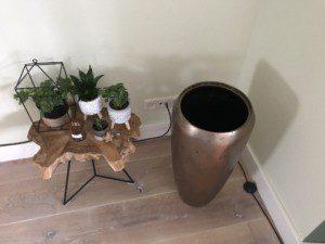 7. lege vaas zonder bak