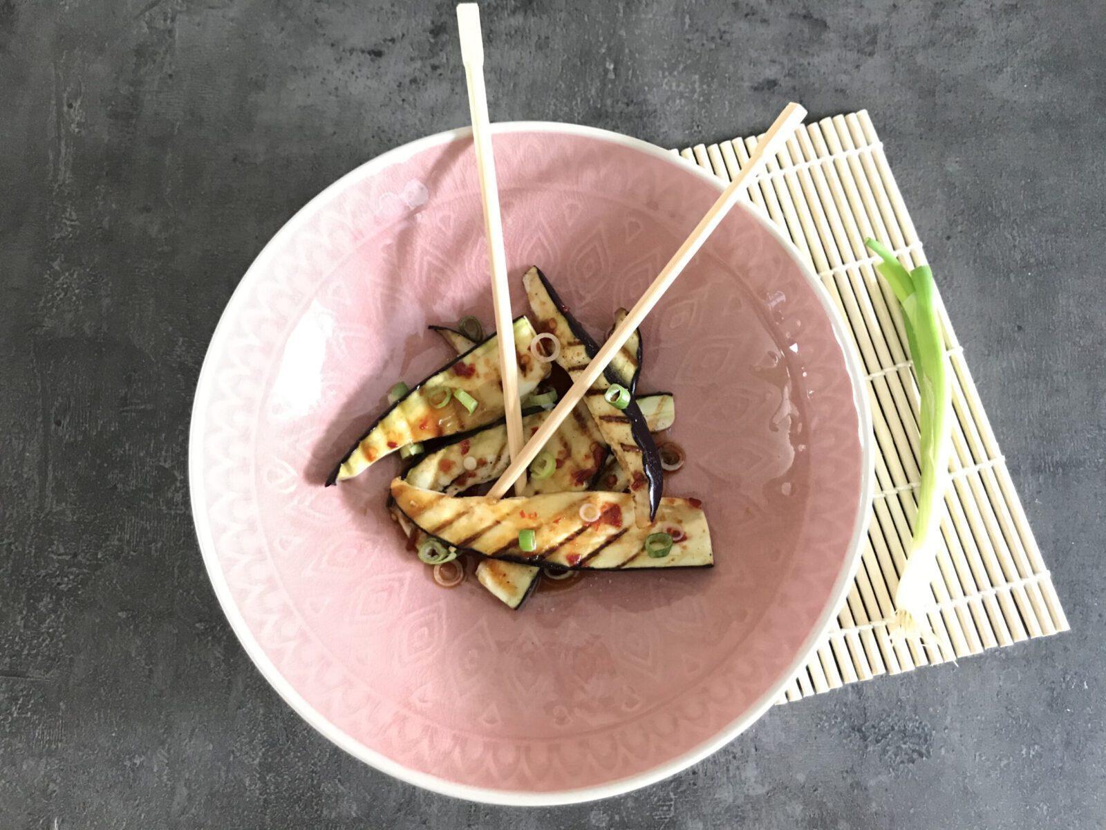 recept aubergine van de bbq mamazetkoers