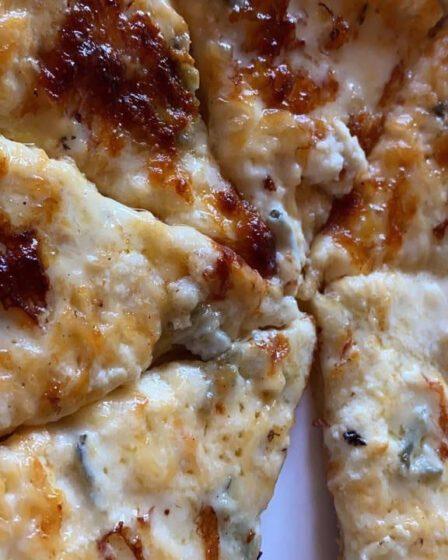 recept Pizza Quattro Formaggi mamazetkoers
