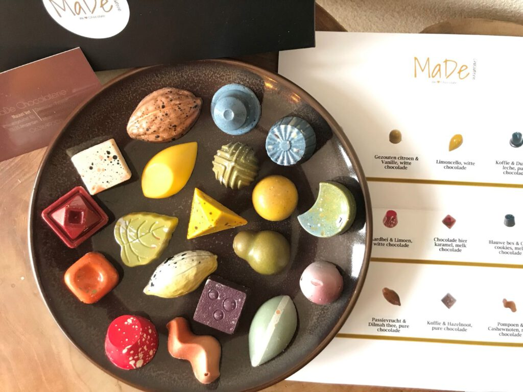 made chocolade mamazetkoers ()