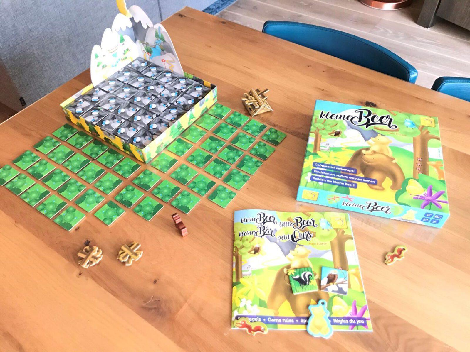 Review het coöperatieve spel Kleine Beer van Sunny Games startopstelling mamazetkoers-