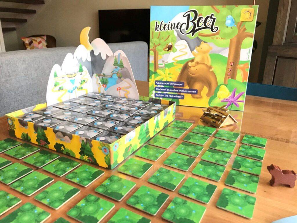 start het coöperatieve spel Kleine Beer van Sunny Games mamazetkoers-
