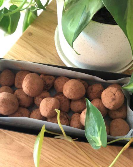 Recept zelf chocoladetruffels maken mamazetkoers